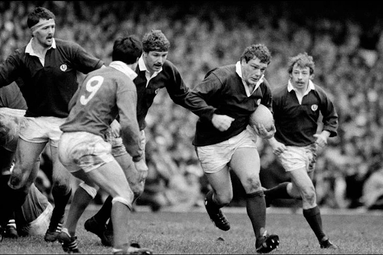 Iain Milne - 44 caps for Scotland, 1983 British and Irish Lions.