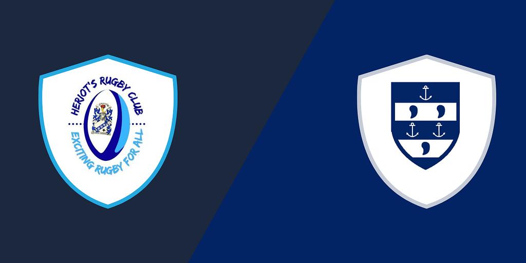 Heriot's Blues Men 2nd XV vs Musselburgh