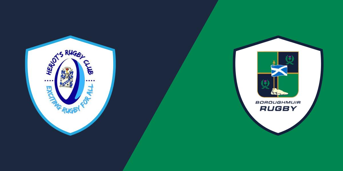 Heriot's Blues Men 2nd XV vs. Boroughmuir