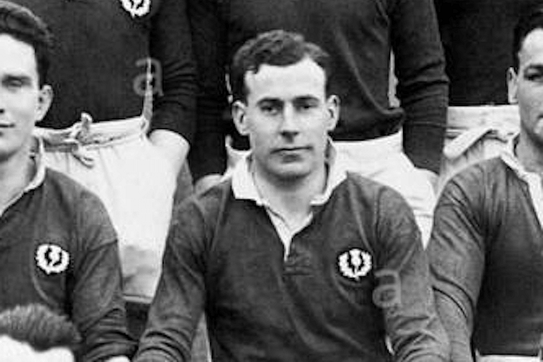Dan Dysdale - 26 caps for Scotland, 1924 British and Irish Lions