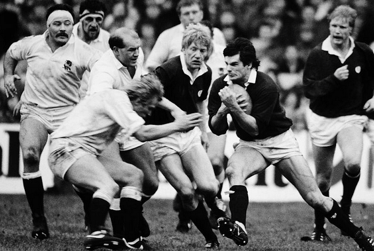 John Beattie - 25 Caps for Scotland, 1980, 1983, 1986 British and Irish Lions