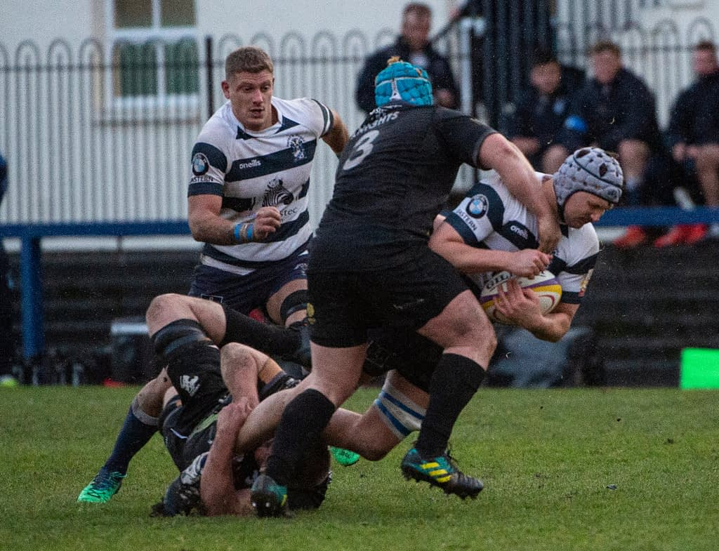Heriot's rugby v Southern KnightsGoldenacre, Edinburgh, Midlothian, UK. 17,11, 2019.Pic shows: heriot's rugby v southern knights Credit: Ian Jacobs