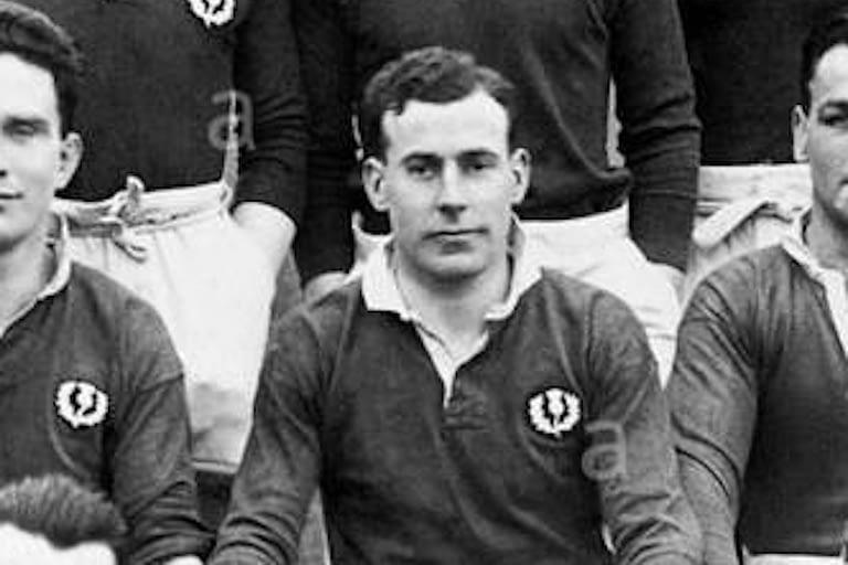 Dan Dysdale - 26 caps for Scotland, 1924 British and Irish Lions