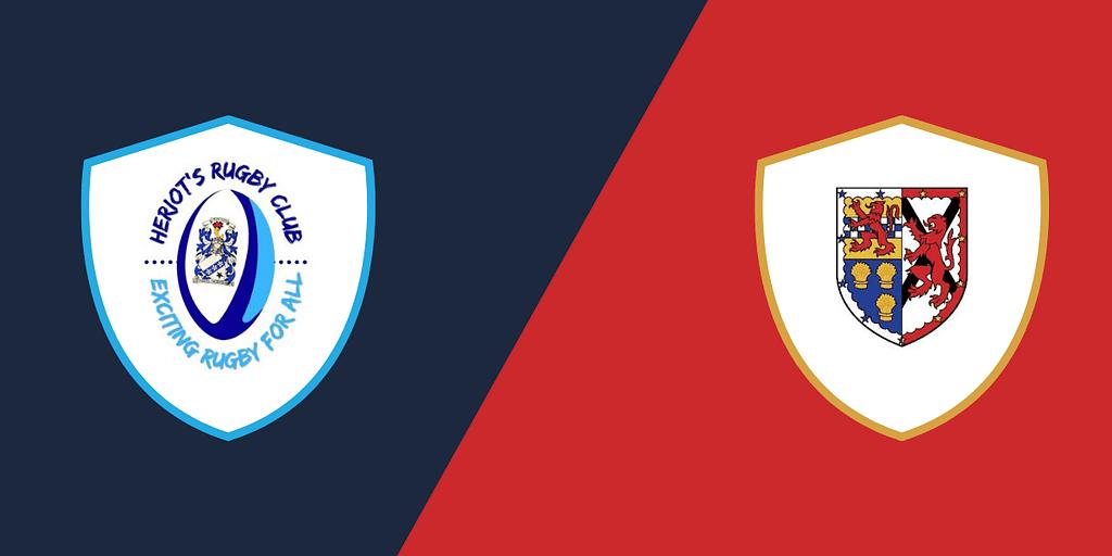 Heriot's Blues 2nd XV vs. Stew Mel 2nd XV