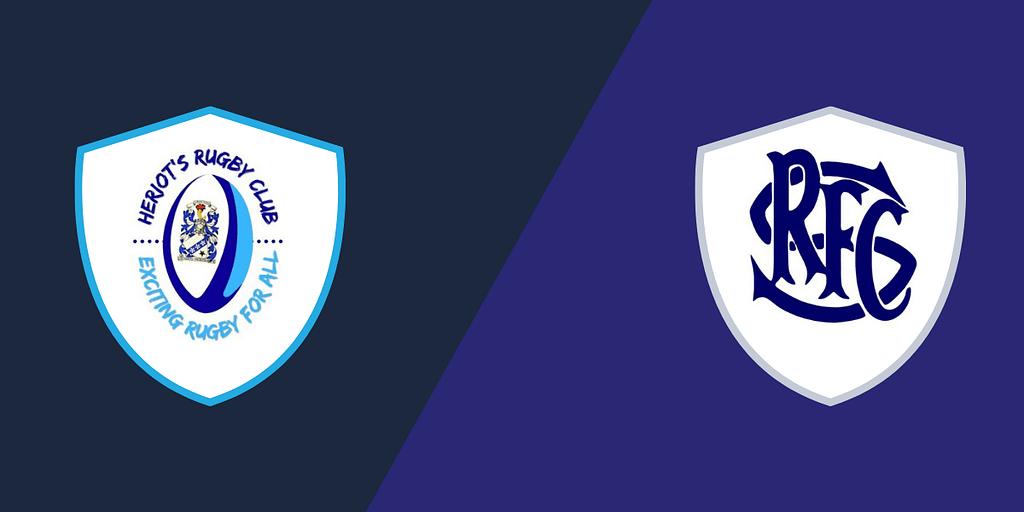 Heriot's Blues Men 2nd XV vs Selkirk