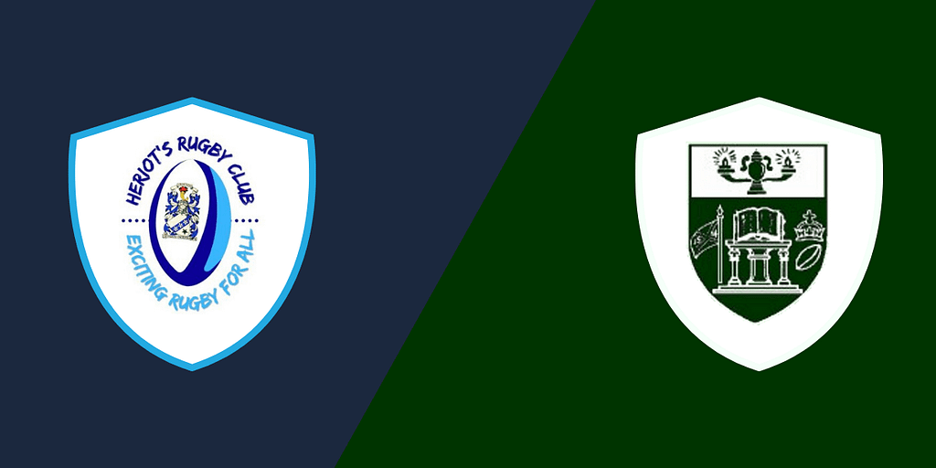 Heriot's Blues Men 2nd XV vs. Hawick Force